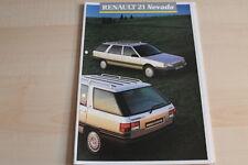 87251) Renault R 21 Nevada Prospekt 07/1987