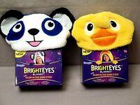 Bright Eyes Blanket By Snuggie Glow In The Dark Eyes....panda Or Ducky Bnib