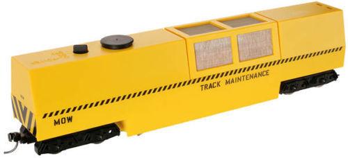 Dapol-Ho DAP-B808 5 en 1 Limpiador de pista cortar con motorizado de vacío, giallo Dcc Listo