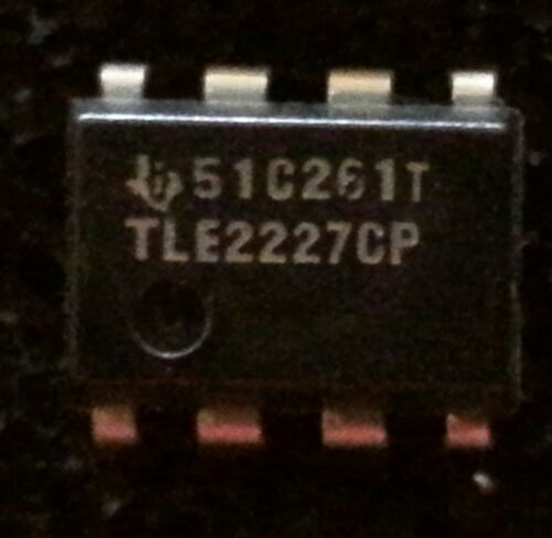 1 pc TLE2227CP  TEXAS  OpAmp  DIP8  NOS  #BP