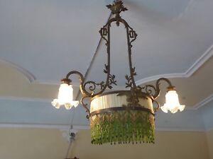 Kronleuchter Antik Frankreich ~ Jugendstil deckenlampe antik kronleuchter frankreich art
