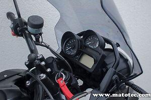BMW R 1200 GS adventure hp 2 s r 1300 k tacho blende Sun Shade cover schwarz