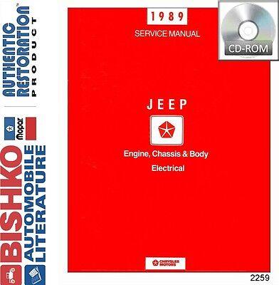 1990 Jeep Wagoneer /& Grand Wagoneer Shop Service Repair Manual CD OEM Guide