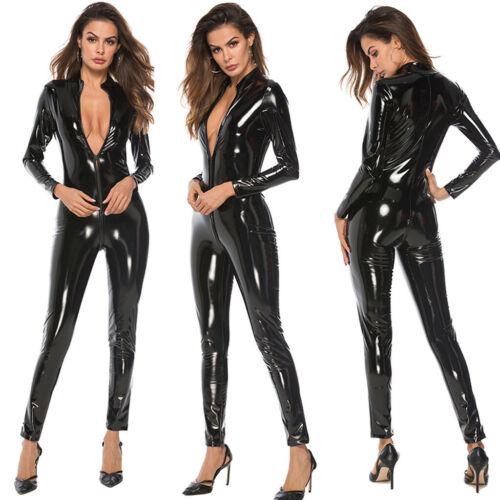 Babydoll Us Leder Plus Pyjama Bodysuit Lingerie Sexy Nachtkleding Ondergoed Dames zY1qSS