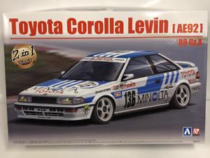 1988 Toyota Corolla Levin Ae92 Gr.a Minolta 1:24 Kit Modélisme Beemax 24010