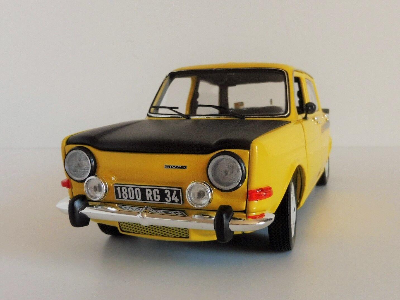 Simca 1000 Rallye 2 1976 Maya Yellow 1 18 Norev 185708 1294 2 Dc