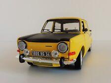 SIMCA 1000 Rallye 2 1976 Maya Gelb 1/18 Norev 185708 1294 2 DC