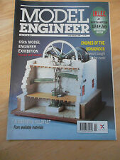 MODEL ENGINEER MAG #4011 FEB 1996 MAGNETIC HOLDFAST ENGINES OF MONADNOCK