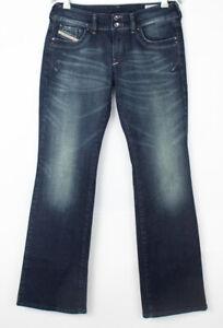 DIESEL Women Ronhar Flared Stretch Jeans Size W30 L32