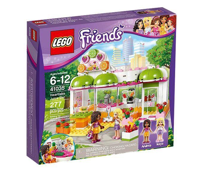 LEGO ® Friends 41035 Heartlake Jus & Smoothiebar Nouveau neuf dans sa boîte Juice Bar New En parfait état, dans sa boîte scellée Boîte d'origine jamais ouverte