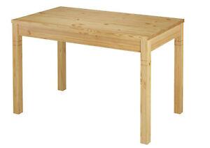 MESA 70x120 de Comedor cocina madera maciza pino 90.70-51 anch | eBay