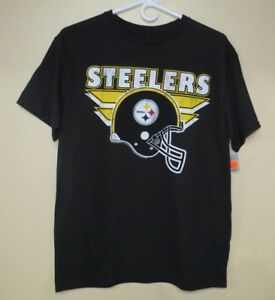 a1db43733 NFL Pittsburgh Steelers T-Shirt (Black) Size - M - NEW>FREE SHIPPING ...