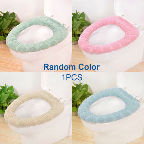 1PCS Washable Toilet Seat Cover Winter Bathroom Warm Cover Pad Mat Cushion