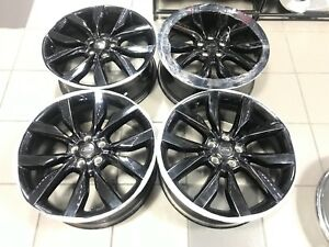 Image Is Loading 19 034 Ford Escape Black Wheels Rims Factory