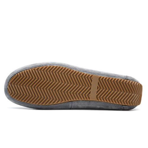 uomo casual da da in Mocassini scarpe pompe tacco piatto pelle esterno barca mocassini slip on thQdsr
