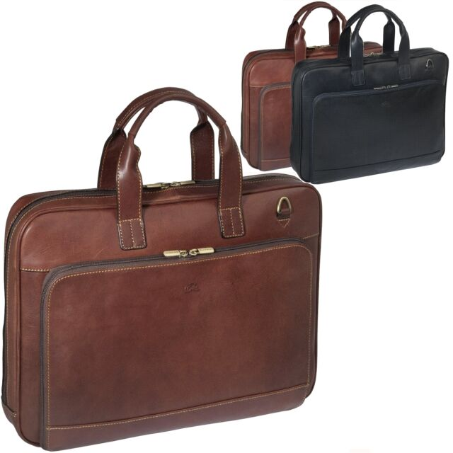Tony Perotti Las Mens Briefcase Bag Messenger Laptop Office