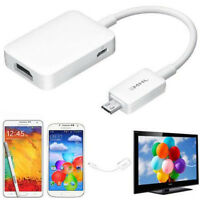 MHL 2.0 Micro USB to HDMI HDTV Adapter for Samsung Galaxy S4 i9500 Mini i9505 IV