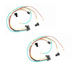 Cool Headlight Wire Harness Connector Pair Dc111A For Mercedes C350 C280 Wiring 101 Orsalhahutechinfo