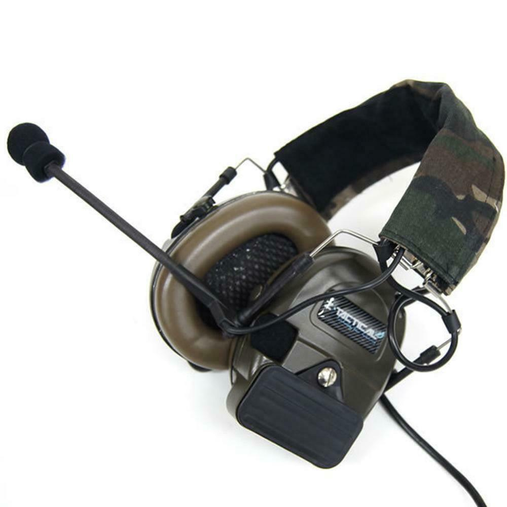 Z-Tactical Airsoft Comtac 1 2 Way Radio Headset Active Sound Protection Z054 UK