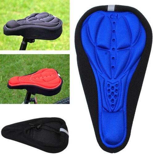 Anti-slip Bike Bicycle Cycling Gel Cruiser Pad Saddle Seat WT