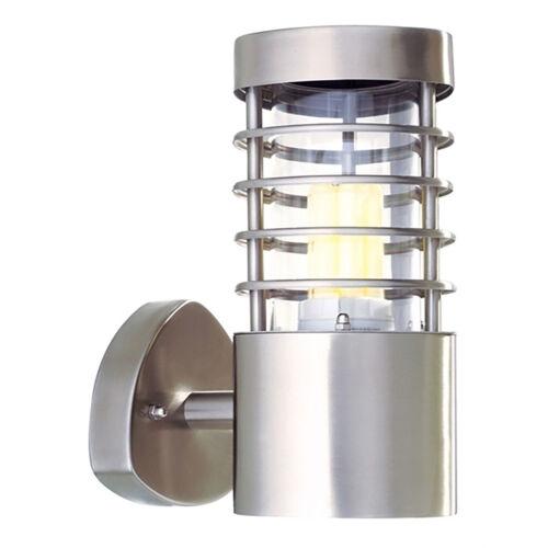 Applique acciaio inox faretto esterni lampada parete led 10w multicolore rgbw