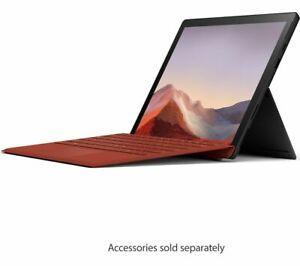 "MICROSOFT Surface Pro 7 12.3"" Laptop Intel Core i7 256GB SSD Black - Currys"