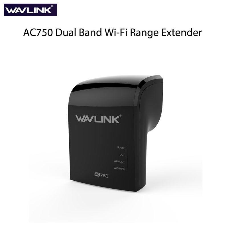 2.4G/5GB Wavlink AC750 Wifi Repeater Range Extender Dual oos