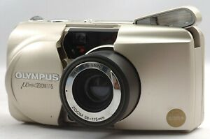 Ship-in-24-Hrs-EXC-Olympus-Mju-Zoom-115-All-Weather-Film-Camera-38-115mm