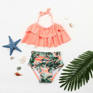 2Pcs-Toddler-Baby-Girl-Cute-Ruffles-Swimwear-Bathing-Bikini-Set-Outfits-Swimsuit