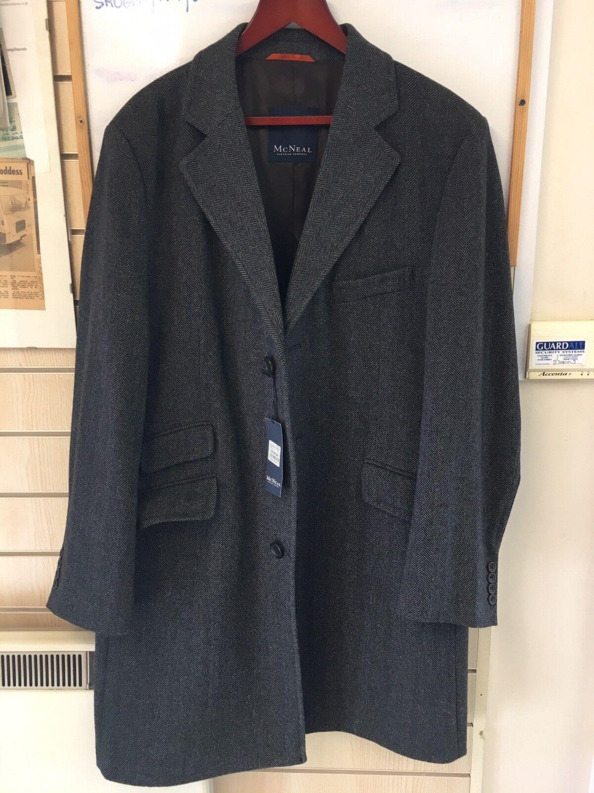 Herren OverCoat Herringbone McNealTweed Wool