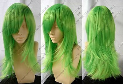 506 New Long Light Green Cosplay Party Wig