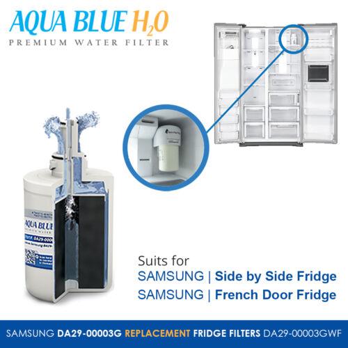 4X SAMSUNG Compatible DA29-00003G DA29-00003A,B,G,F FRIDGE WATER FILTER
