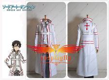 Sword Art Online Knights of the Blood Kazuto Kirigaya kirito cosplay Costume