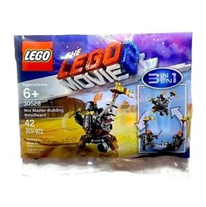 Sealed LEGO Polybag Mini Master-Building Metalbeard #30528 Lego Movie 2