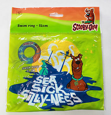 Scooby Doo Where Are You Kids Inflatable Swim Ring Beach Swimming Pool Holiday