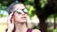 thumbnail 32 - Flip Up Circle Steampunk Glasses Goggles Sunglasses Emo Retro Vintage Cyber Punk