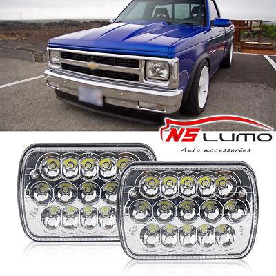 "6x7/""LED Headlight Square Bulb Hi//Low Sealed Beam For Chevy S10 Sonoma Truck 2Pcs"