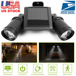 14-LED-Dual-Head-Solar-Powered-Yard-Lights-PIR-Motion-Sensor-Spotlight-Wall-Lamp