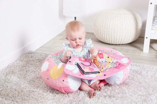 Sit Me Up Dreamy Meadow Padded Inflatable Baby Activity Seat Support Tray /& Toys