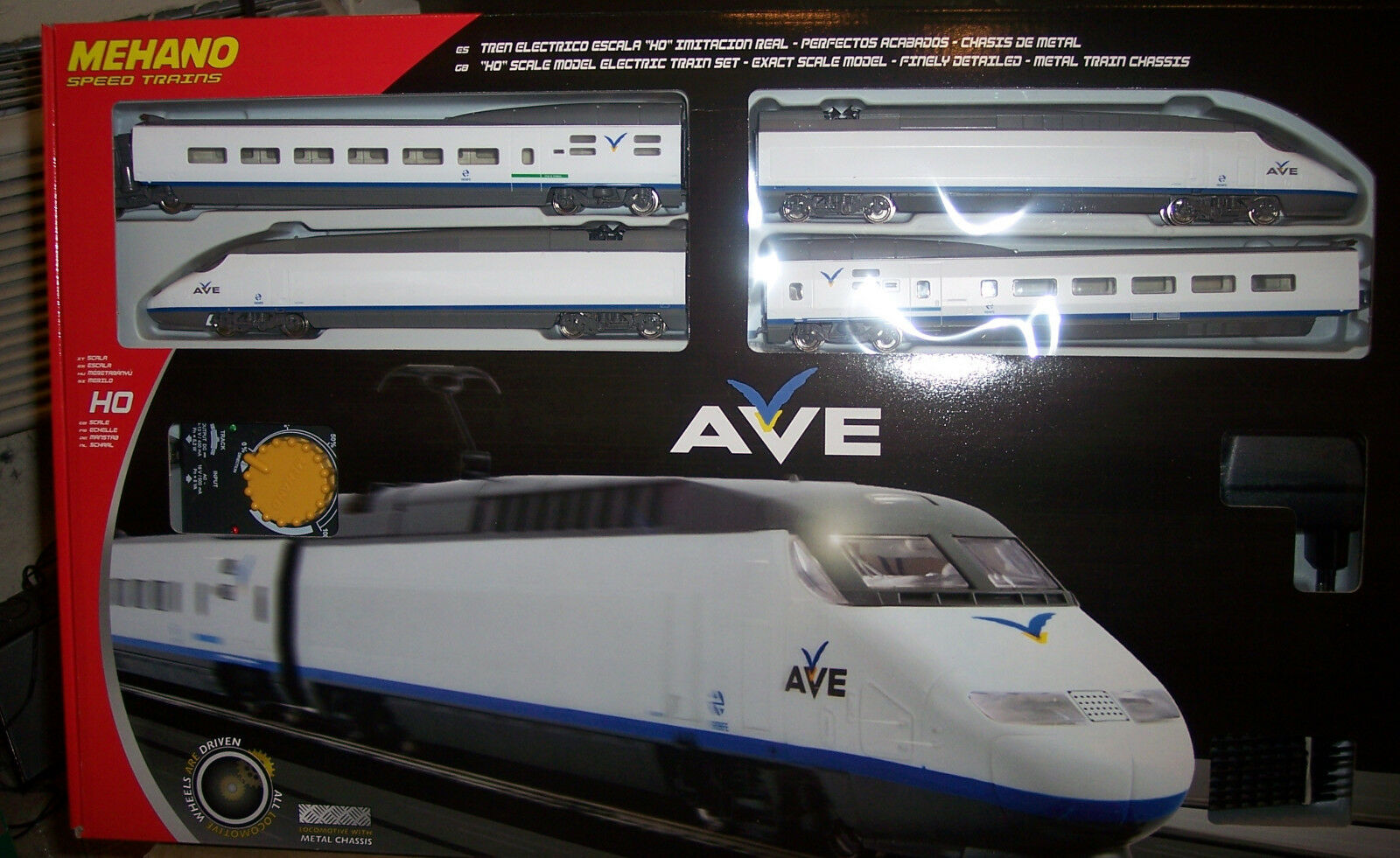 HO MEHANO TGV AVE HIGH SPEED TRAIN   T682 & 58511 AVE C SPEED TRAIN