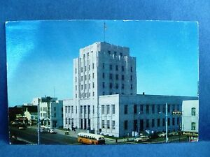 Image Is Loading Postcard CA Long Beach Post Office Building