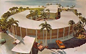 SARASOTA-FLORIDA-LIDO-BEACH-THE-TRITON-HOTEL-ARTIST-RENDERING-1970-POSTCARD