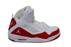 Dettagli su Uomo Nike Jordan SC 3 629877116 Bianco Rosso Scarpe