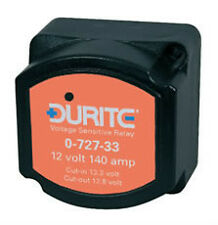 DURITE - 140Amp 12v SPLIT CHARGE RELAY FULLY AUTOMATIC