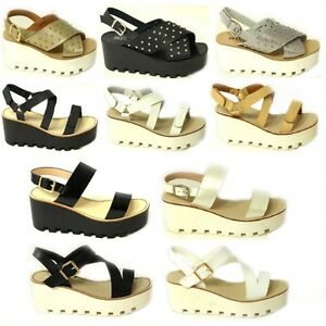 WOMENS-LADIES-CHUNKY-SOLE-PLATFORM-SUMMER-SANDALS-WEDGES-PLATFORM-SHOES-SIZE