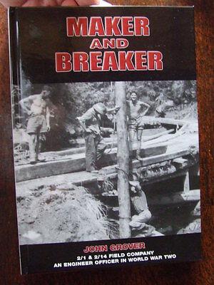 WW2 Australian Engineers History of 1 & 2 Field Company Kokoda Wau Military Book