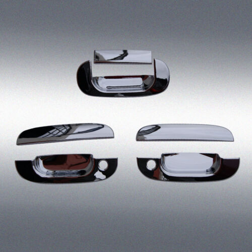 For 94-01 Dodge Ram 1500 2500 3500 Chrome Door Handle Covers Tailgate Caps Set