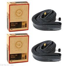 32mm Schrader Valve PAIR 2-PACK Bicycle Inner Tubes 700 x 35-43