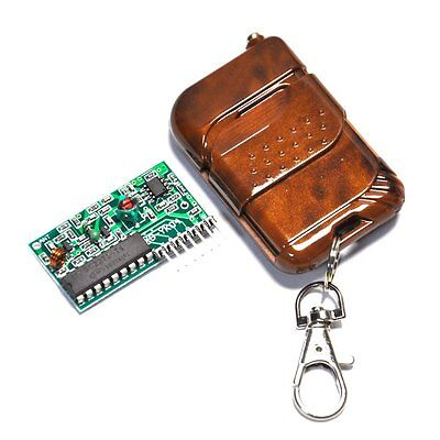 IC 2262/2272 4 CH Key Wireless Remote Control 315MHZ Receiver module F Arduino