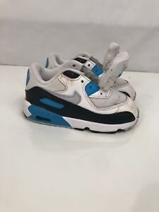 Details about NIKE AIR MAX 90 WHITE WHITE RUNNING BABY TD SZ 8c Toddler Athletic